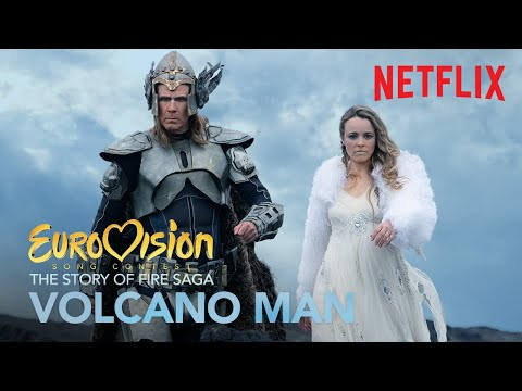 Volcano Man - Will Ferrell and Rachel McAdams