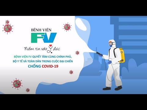 Quy trình sàng lọc COVID-19 tại Bệnh viện FV