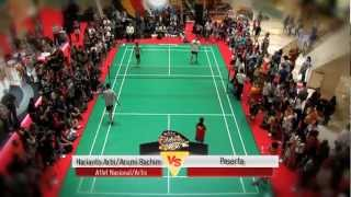Hariyanto Arbi/Arumi Bachim di Celebrity Smash 2012