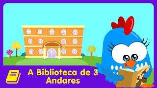 Galinha Pintadinha Mini - Historinha - A Biblioteca de 3 Andares