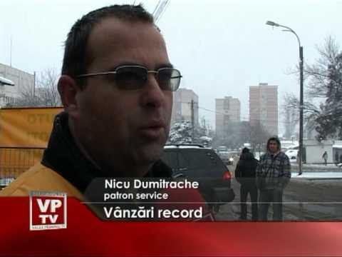 Vânzări record