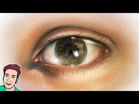 How To Draw A Realistic Eye (Corel Painter Tutorial)