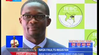 NASA hands IEBC a raft of fresh demands punching holes into the credibility of their register