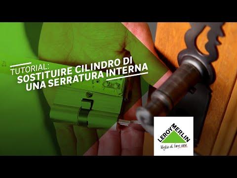 Come sostituire il cilindro di una serratura - Tutorial Leroy Merlin