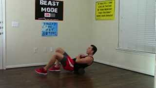 20 Min Foam Rolling Workout - HASfit Foam Roller Exercises Self Myofascial Release Stretch Exercise by HASfit
