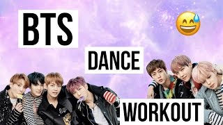 BTS KPOP DANCE WORKOUT by Dria Taylor