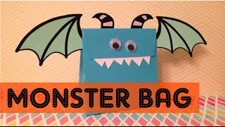 HALLOWEEN: MONSTER BAG - BOLSA MONSTRUO