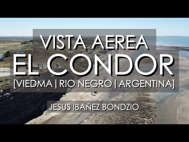 Vista Aerea Balneario El Condor, Rio Negro, Argentina 😎