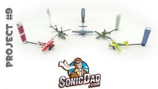 Aerobat Control Stick - SonicDad Project #9