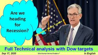 Intraday tips Why the Dow Jones Stocks are Falling & Crashing? Are we heading for Recession?
