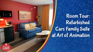 Art Of Animation - Newly Refurbished Cars Family Suite - Room Tour
