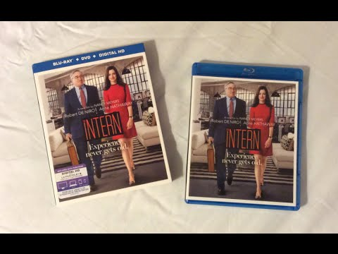 The Intern (2015) Blu Ray Review and Unboxing