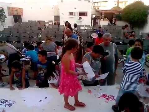 0 Kids activity in Antiparos   13/08/2013 at 19:00h