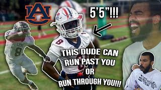 The SHORTEST, FASTEST, STRONGEST Running Back You've Ever Seen!! Shaun Shivers Highlights [Reaction]
