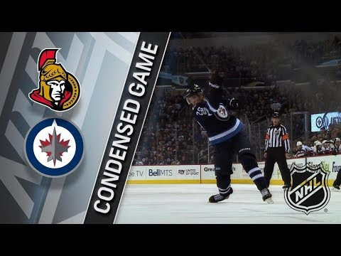 Ottawa Senators vs Winnipeg Jets – Dec. 03, 2017 | Game Highlights | NHL 2017/18. Обзор матча