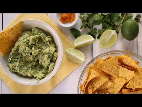 Minty Margarita Guacamole- Everyday Food with Sarah Carey