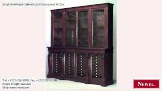 English Antique Cabinets And Case-pieces For Sale
