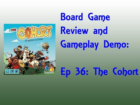 Board Game Review and Gameplay Demo - The Cohort