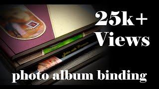 Photo Album Binding