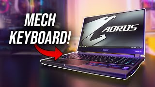 Best Mechanical Keyboard In A Laptop! Aorus 15G Review