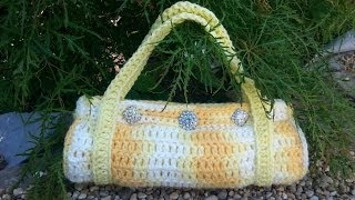 CROCHET How to #Crochet Handbag Purse   Easy DIY #TUTORIAL #86 LEARN CROCHET