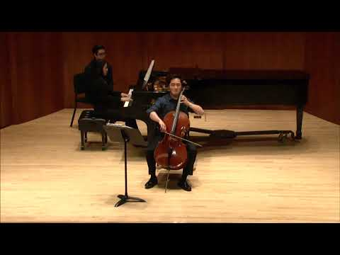 Bridge Cello Sonata in D minor Movement 1.