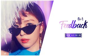 8D | BoA (보아) – Feedback (feat. Nucksal) | USE HEADPHONES |