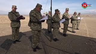 Naxçıvan Qarnizonu Qoşunlarında komandir heyətin hazırlıq məşğələləri keçirilib