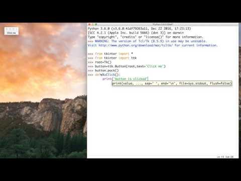 41- Python GUI || First UI App- التطبيق الاول
