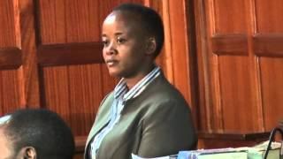 Ms kethi Kilonzo Cross Examination