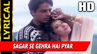 Sagar Se Gehra Hai Pyar Hamara With Lyrics   - YouTube