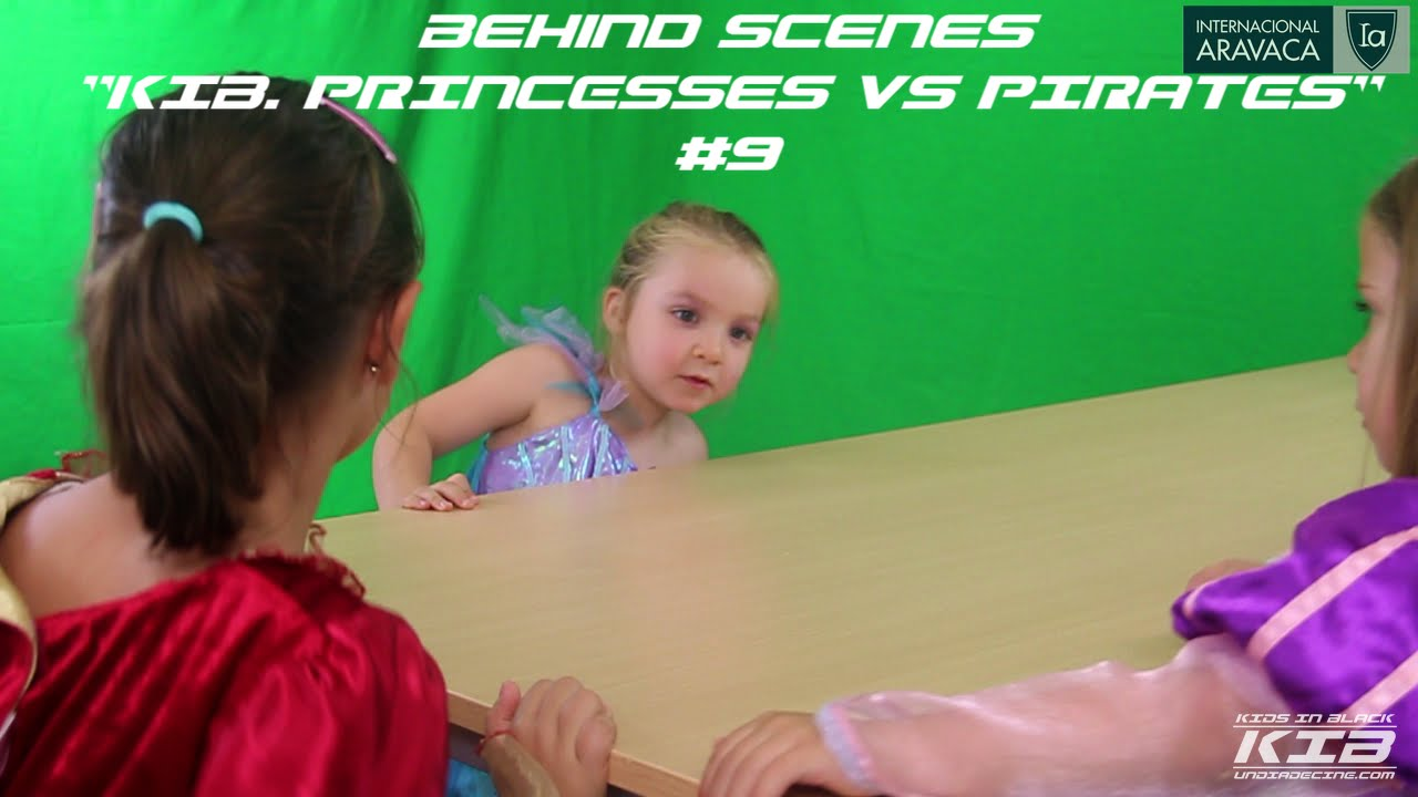 "Behind the Scenes: ""KIB. Princesses VS Pirates"" #9"
