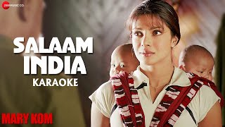 Salaam India Karaoke + Lyrics (Instrumental   - YouTube