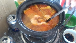 0227 CÁ TRA TẢ PÍN LÙ l Cá tra nấu 2 món - How to cook Basa Fish Vietnam