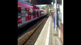 preview picture of video 'S Bahnen in Wernau'