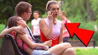 ПОШЛАЯ БОЛЕЛЬЩИЦА / ПРАНК (странные разговоры по телефону)