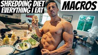 My Shredding Diet: Full Day Of Eating IIFYM