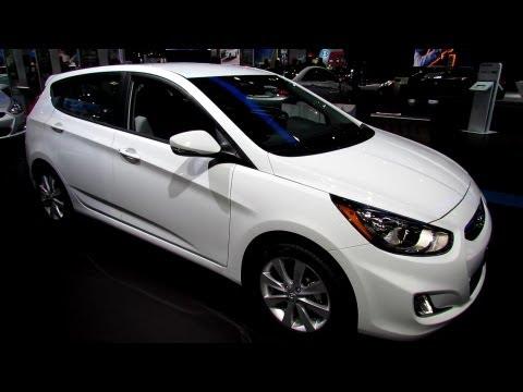 2013 Hyundai Accent Hatchback - Exterior and Interior Walkaround - 2013 New York Auto Show