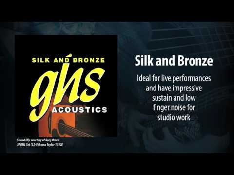 GHS Strings - Silk and Bronze Acoustic Strings