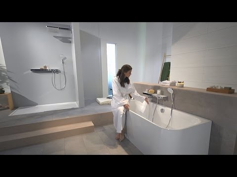 Hansgrohe ShowerTablet Select 700 thermostatic bath mixer