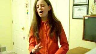 "Mackenzie Morgan singing""Ten Thousand Angels Cried"""