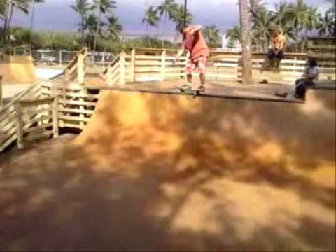 Kalama Skatepark, Kihei Maui