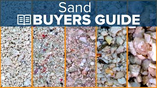 Live Or Dry? Choose The Right Sand Buyers Guide