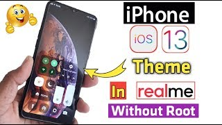 iPhone X Theme for Realme and OPPO | iPhone X interface on