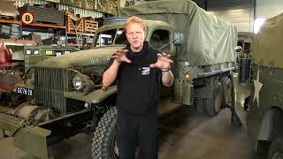 Tachtig ton materieel op transport naar D-day in Normandië