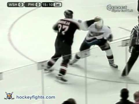 Donald Brashear vs. Doug Doull