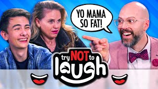 Try Not To Laugh Or Smile While Watching | Yo MAMA Jokes WITH Yo MAMA (Ep. # 141)