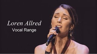 [HD] Loren Allred Vocal Range (C3   G♯5)