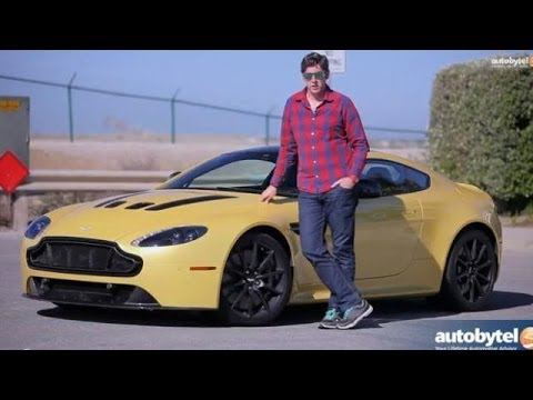 2014 Aston Martin V12 Vantage S Test Drive Video Review