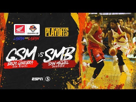 [Sport5]  Full Game: Ginebra vs San Miguel | PBA Governors' Cup 2019 Quarterfinals